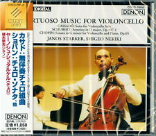 JANOS STARKER-VIRTUOSO MUSIC FOR VIOLONCELLO-JAPAN CD B63