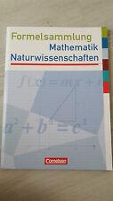 Formelsammlung Mathematik/Naturwissenschaften Cornelsen Verlag ♡NEU