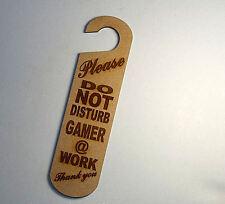 Do not disturb sign -Gamer at work  #12