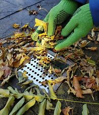 """6"""" Drain Cover Gauze Gutter Guard Grille Stops Leaf Leaves Stainless Steel"""
