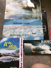 Pandemonium Andromeda Rave Flyers 1991