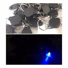 50 COUNT UV Mini Key chain LED Flashlight Torch Light Lamp, Black light Key Ring