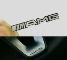 AMG Aluminium Lenkrademblem Logo AMG Embleme Aufkleber für Mercedes Benz