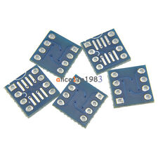 50PCS SOP8 SO8 SOIC8 TO DIP8  Interposer board pcb Board Adapter Plate
