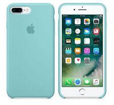 """SEA BLUE GENUINE ORIGINAL Apple Silicone Case NEW for iPhone 8 PLUS 5.5"""""""