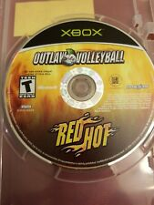 Outlaw Volleyball Red Hot Microsoft Xbox Video Game DISC ONLY FREE SHIP