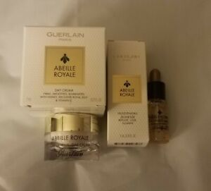 Guerlain Day Cream Youth Water Oil set of 2 items