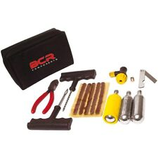 REPAIRING KIT FOR TUBELESS TYRES TIRES MOTORBIKE SCOOTER CO2 CARTRIDGE