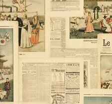 Vliestapete Rasch Crispy Paper Zeitung beige bunt 526509 (2,35€/1qm)