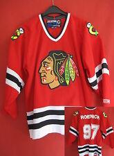 Maillot Hockey sur glace Chicago Blackhawk Jeremy Roenick Vintage Ice jersey - M