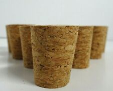 Cork Stoppers Craft Shakers Bottles - 10 Premium Tapered Size #7 or #8 Free Ship