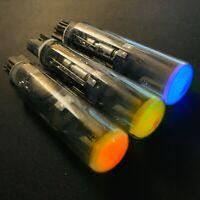 3x RGB ILD3-S / P590 Ultrarare CRT VFD indicator tube for DIY and education NOS