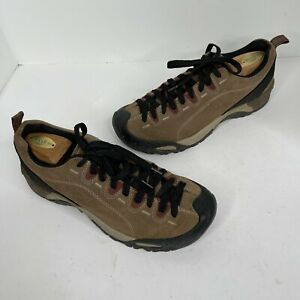 Keen Jasper Casual Brown leather suede Hiking Shoes Men's Size 9