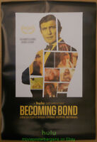 JAMES BOND Documentary BECOMING BOND MOVIE POSTER SS 24x36 Inch HULU Doc. 2017