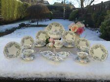 Royal Albert 22 piece Tea Service 'Silver Maple'