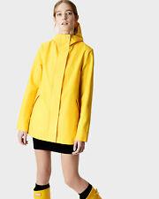 Hunters waterproof coat Raincoat Size S Yellow Womens Rubberised ORIGINAL NEW!!!