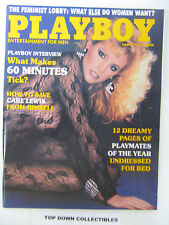 Playboy Magazine   March 1985  Monique St. Pierre/Toni Westbrook Alaska Ranger