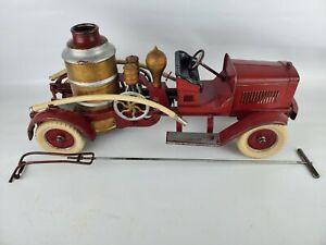 #272 Kingsbury 24 inch Fire Engine Pumper 1926 Excellent Original Condition