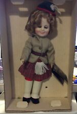 12 Inch Shirley Temple Ideal In Wee Willie Winkie Excellent Condition Orig Box!
