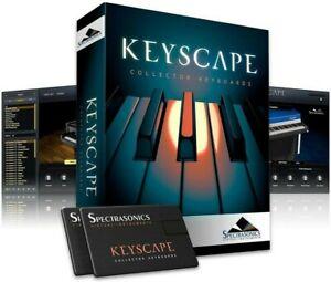 Spectrasonics Keyscape Virtual Instrument Software Komplett Paket Box Gebrauch!