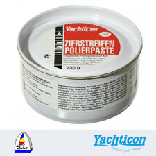 Yachticon - Zierstreifen Polierpaste rot