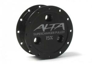 ALTA Supercharger Pulley 15% R53