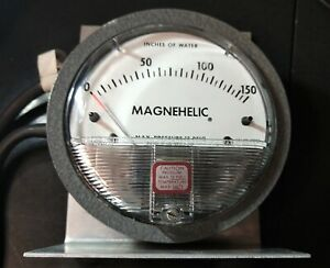 "Dwyer Magnehelic Differential Pressure Gauge 0 - 150"" of water, Model 2150C"