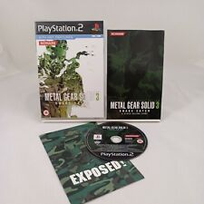 Metal Gear Solid 3 Snake Eater PS 2 Spiel Sony Playstation 2 mit Handbuch