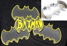 Batman Cookie Cutter Superhero Biscuit Cake Cupcake Topper Party Decoration