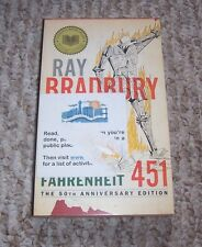 1976 Fahrenheit 451 Ray Bradbury Book Burning Firefighters Anniversary Edition