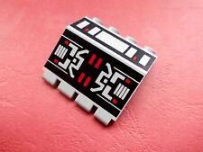 Lego (2582p68) bisagra 2x4x3 1/3 (estampados), en Alt gris claro de 6989 6923 6862