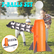 Kids Outdoor Toys Parent-child Sports Automatic  Baseball Toy T-Ball Pitcher