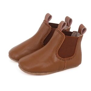 NEW SKEANIE Pre-Walker Leather Riding Boots Tan. RRP $59.95