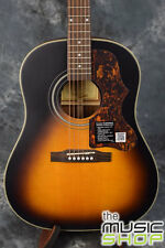 New Epiphone Masterbilt AJ-45ME All Solid J45 Acoustic/Electric Guitar -Sunburst