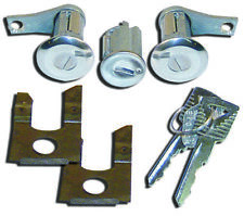 1965~1966 Mustang 1961~66 Ford Truck Standard Lock Key Set Ignition and Door Kit
