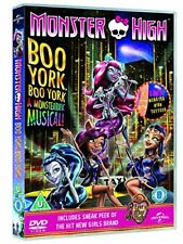 Monster High  Boo York  Boo York   includes Monsterific Gift  [DVD] [2015] (PAL)