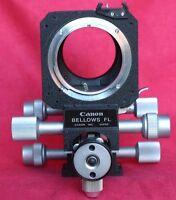 Genuine Canon FD/FL Film SLR Macro BELLOWS Original
