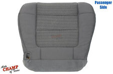 01-03 Ford F150 XLT SPORT XL SINGLE-CAB - Passenger Bottom Cloth Seat Cover Gray