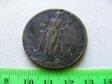 WWI Peace Proclamation Medallion 1919...Original used item. GENUINE.