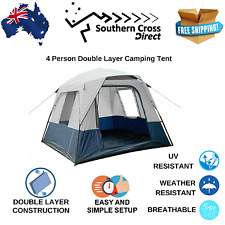 4 Person Double Layer Camping Tent