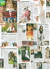 Glückspost Kylie Minogue, romina power, Maite Kelly, Denise Biellmann, Laura pausini