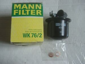 NEW MANN WK76/2 FUEL FILTER For HONDA ACCORD AERODECK CIVIC CRX PRELUDE