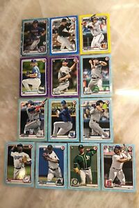 2020 Bowman Baseball Lot of 13 Serial Numbered & Short Print Cards w/ 3 Rookies