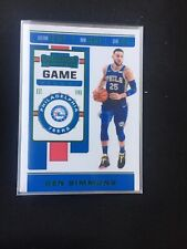Ben Simmons 2019-20 Contenders Basketball Game Ticket Green Foil FREE Shipping
