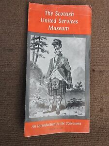 BROCHURE / GUIDE TO SCOTTISH UNITED SERVICES MUSEUM VINTAGE 1960,s