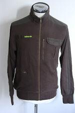 ADIDAS S felpa sweatshirt giacca zip jacket track top gabber E1936