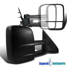 1997-2003 Ford F150 Light Duty Power Telescoping Tow Side Mirrors Pair