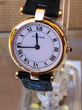 Cartier Vendome Ladies 18k Solid Gold Swiss Luxury Watch. 881002