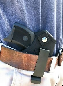 Concealed IWB Inside The Waist Band Holster For Ruger LCP 380 With/Without Laser