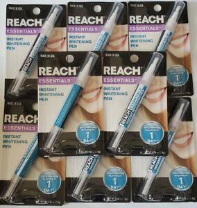 10 X Reach Essentials Tooth Teeth Whitening Pen Instant Stain Gel Bleaching